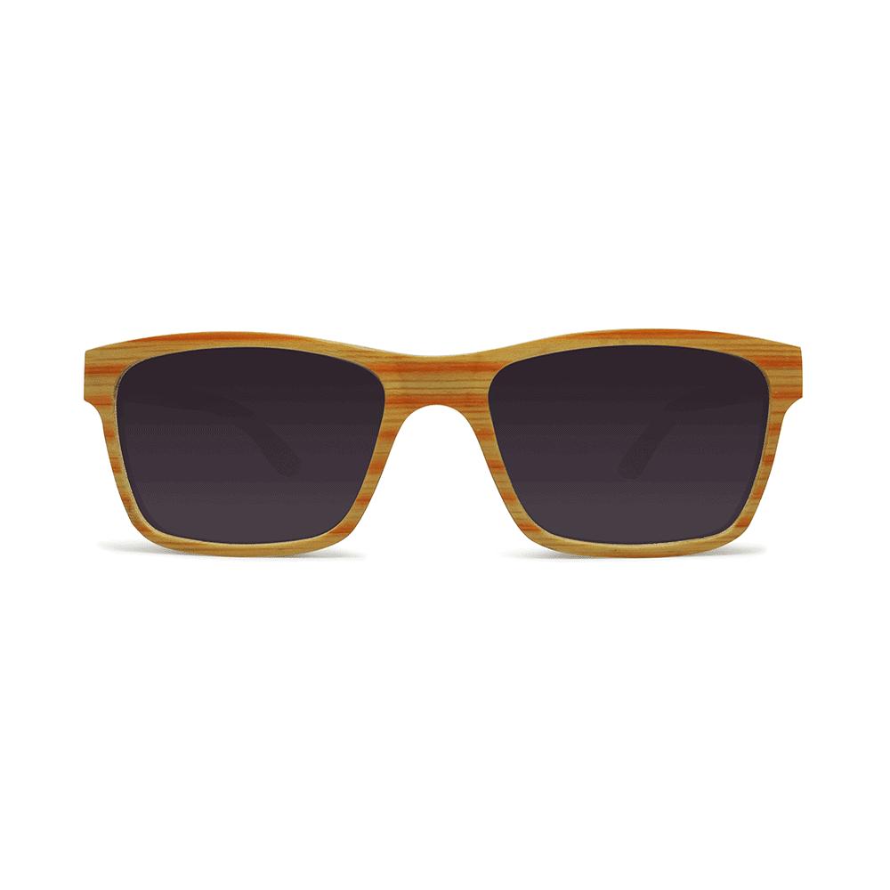 Candy Citrus - משקפי שמש מעץ בצבע כתום