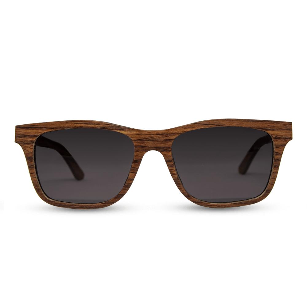 משקפי שמש מעץ - Brownie