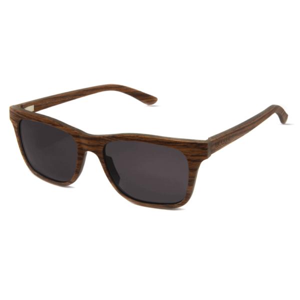 דגם Brownie - משקפי שמש מעץ מייפל בצבע חום - Mr. Woodini