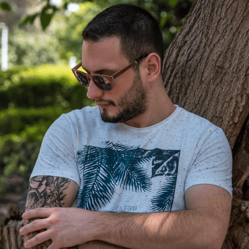 משקפי שמש מעץ - סלבדור