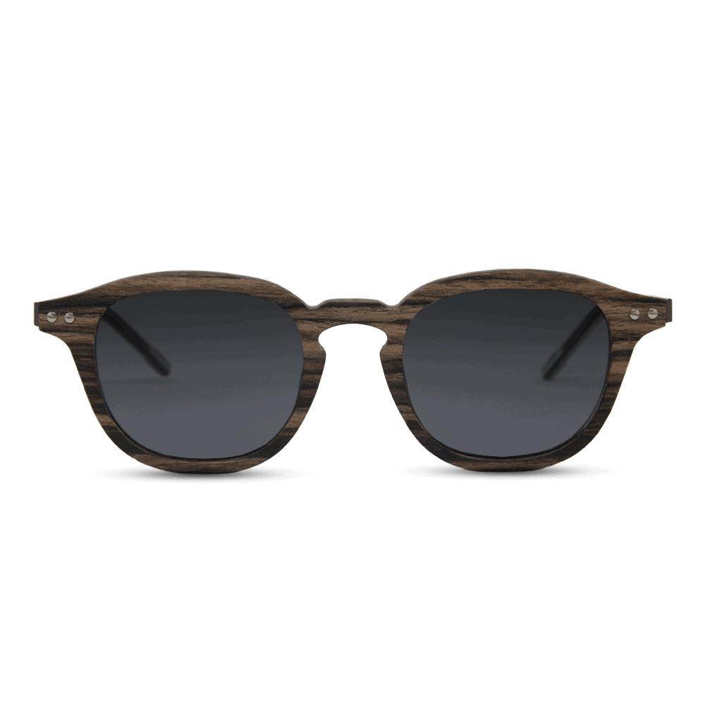 Flip Swiss Walnut - Wooden Sunglasses & Metal