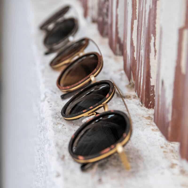 Arbol - משקפי שמש מיוצרים ממתכת ועץ ממוחזר - 3 צבעים לבחירה