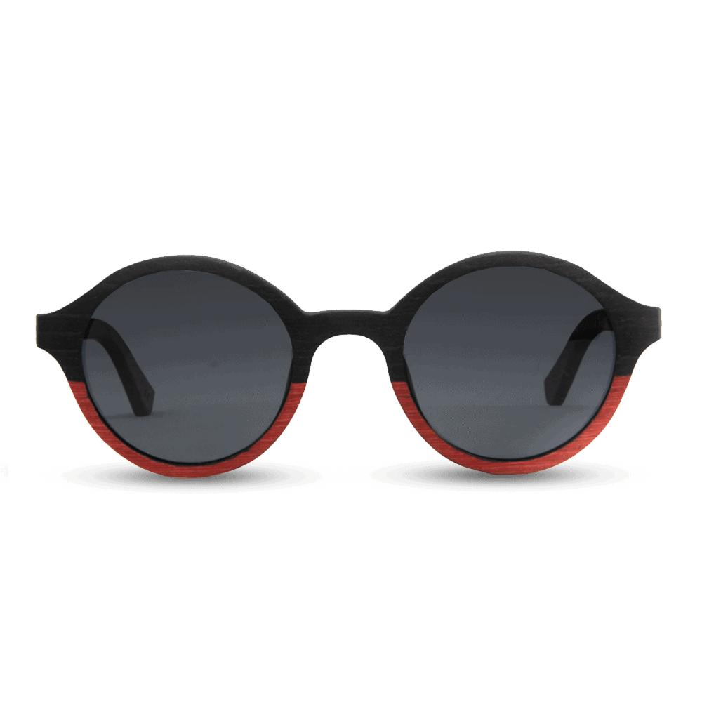 דגם Arishima - בצבעים שחור ואדום - Mr. Woodini