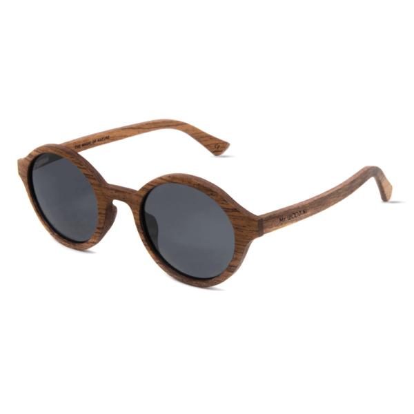 דגם Arishima - משקפי שמש מעץ אדמדם - Mr. Woodini