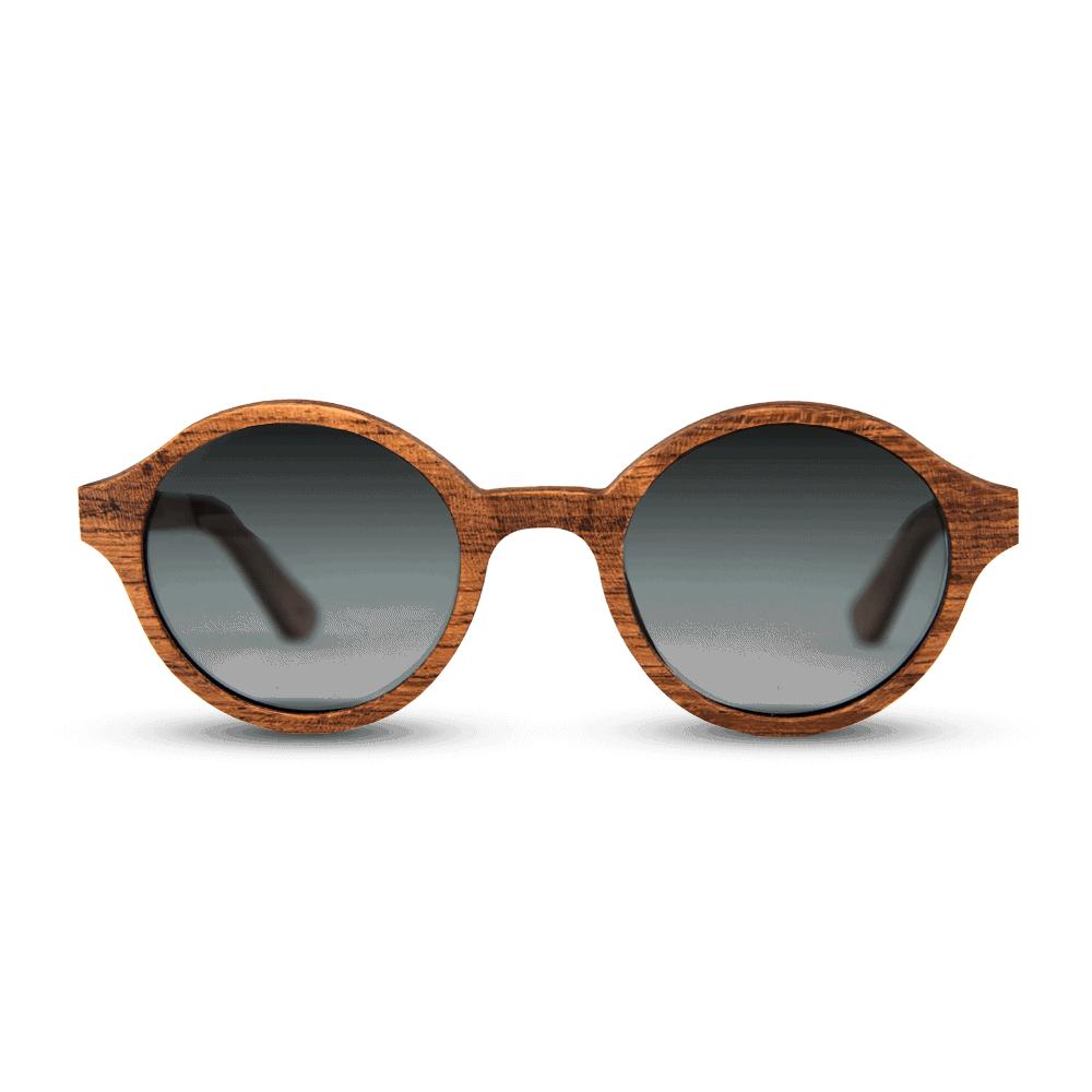 Arishima Rosewood משקפי שמש מעץ אדמדם