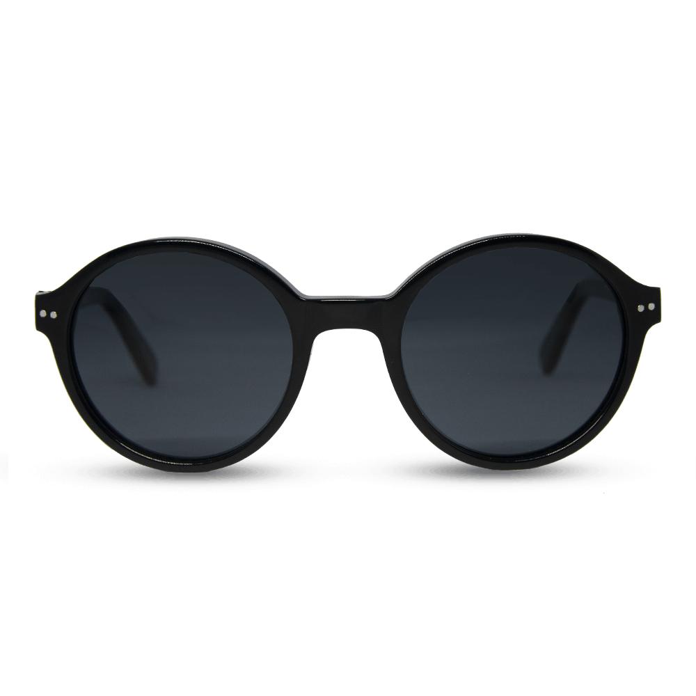 הפנתר השחור - משקפי שמש בצבע שחור - מאצטט ועץ
