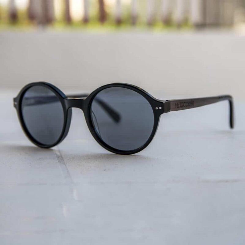 black panther mr. woodini משקפי שמש אצטט ועץ
