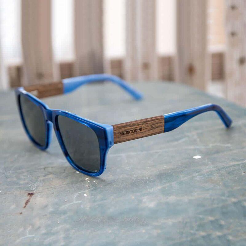 משקפי שמש אצטט + עץ