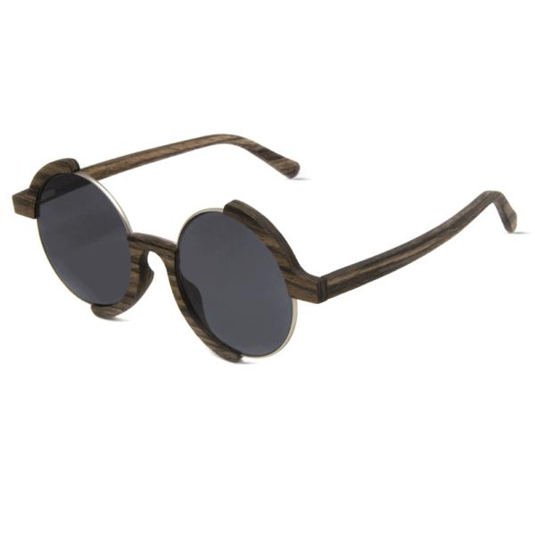 דגם Madness - משקפי שמש מעץ אגוז - Mr. Woodini