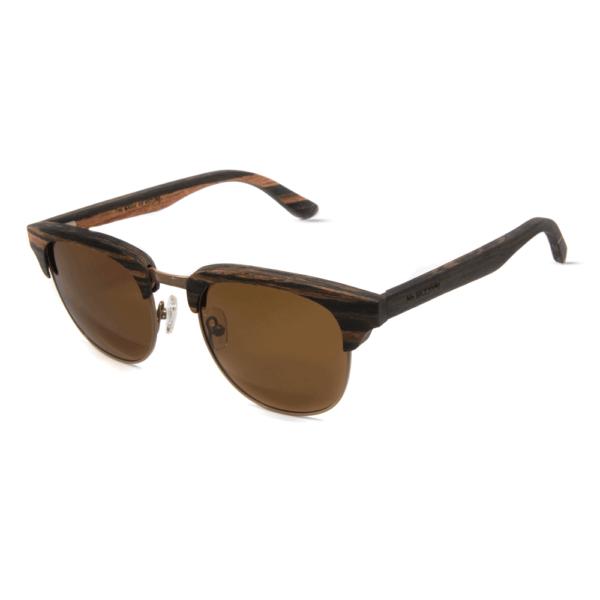 דגם Timber - משקפי שמש מעץ הובנה - Mr. Woodini