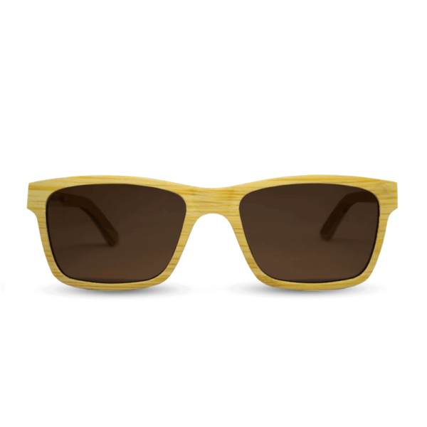 Candy blonde - משקפי שמש מעץ