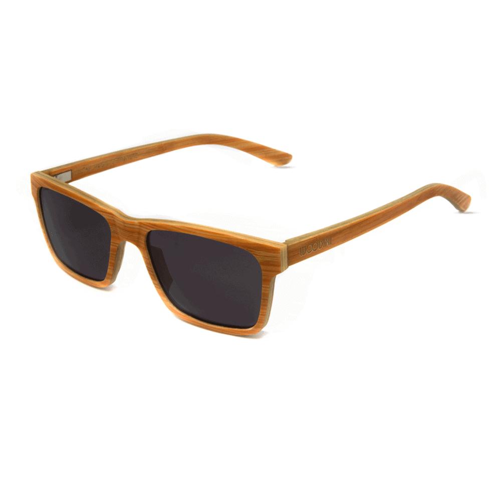 דגם Candy - משקפי שמש מעץ מייפל בצבע כתום - Mr. Woodini