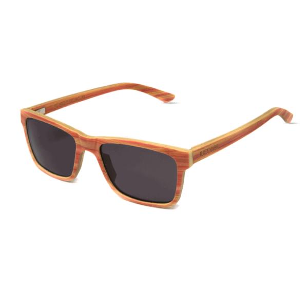 דגם Candy - משקפי שמש מעץ מייפל בצבע ורוד - Mr. Woodini