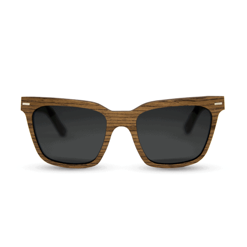 pyramid wooden sunglasses- mr. woodini