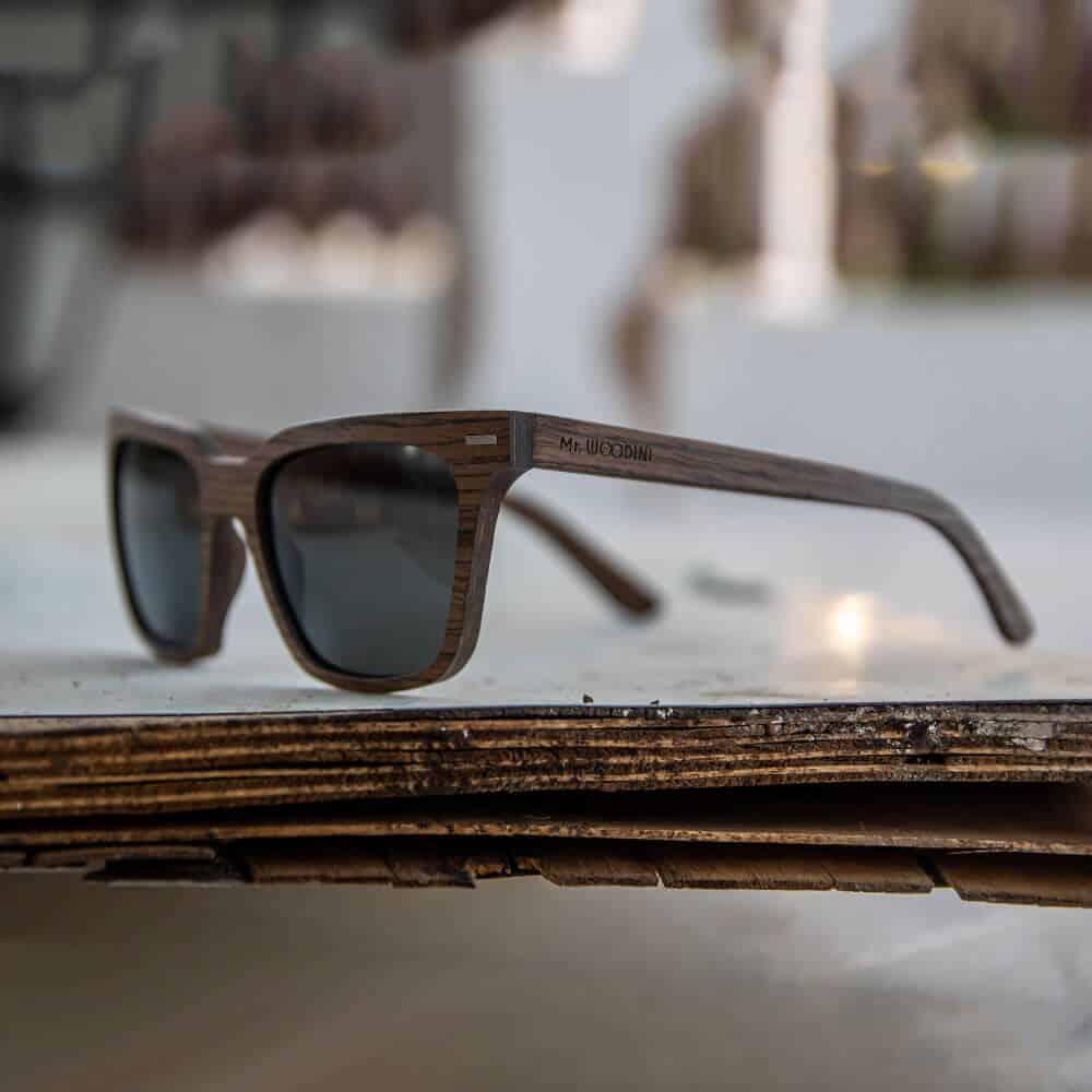 pyramid - wooden sunglasses