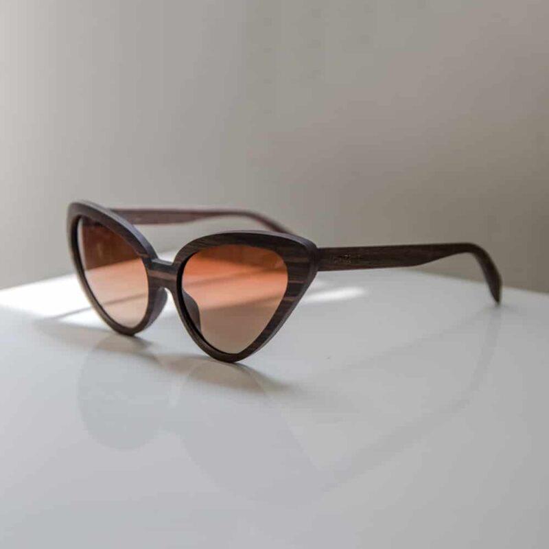 sputnik Mr. Woodini - משקפי שמש מעץ