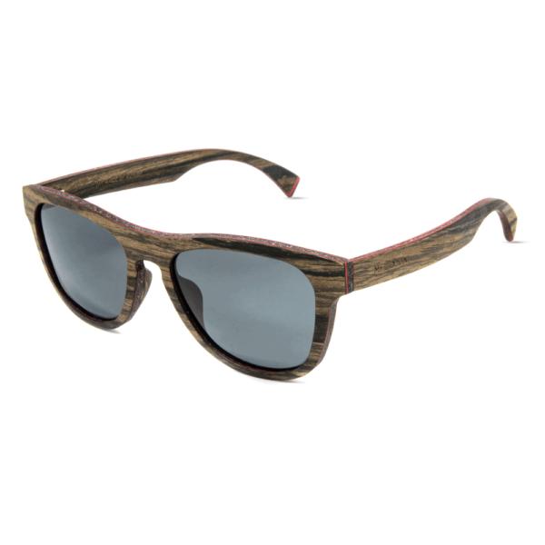 דגם Cobra - משקפי שמש מעץ אגוז - Mr. Woodini