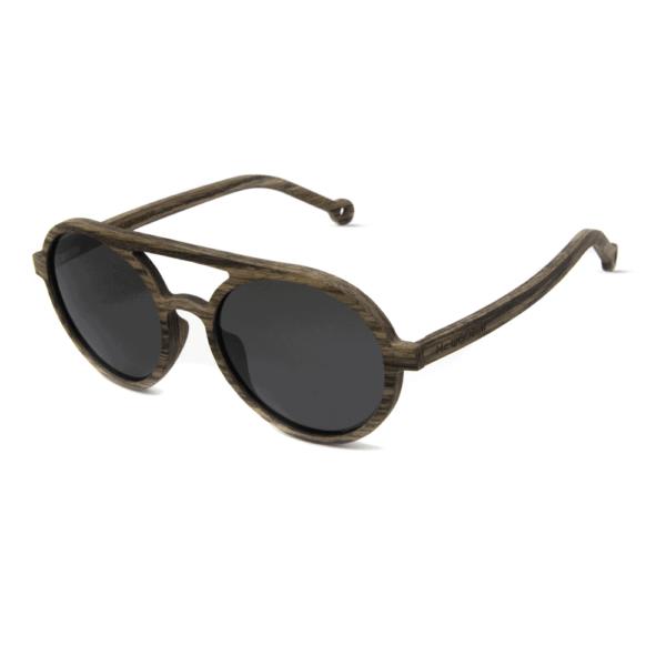 דגם Magia - משקפי שמש מעץ אגוז - Mr. Woodini