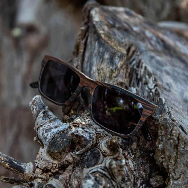 bnaff Mr. Woodini משקפי שמש עץ