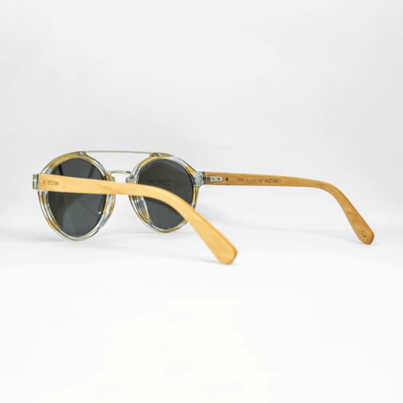 Overdose - משקפי שמש מעץ ואצטט - מיסטר וודיני