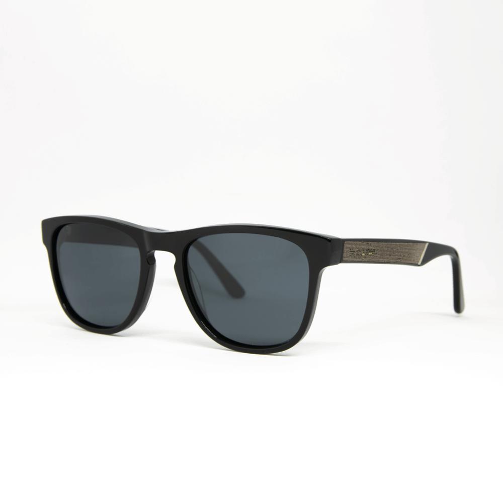 שוורץ - משקפי שמש מעץ ואצטט בעבודת יד - מיסטר וודיני