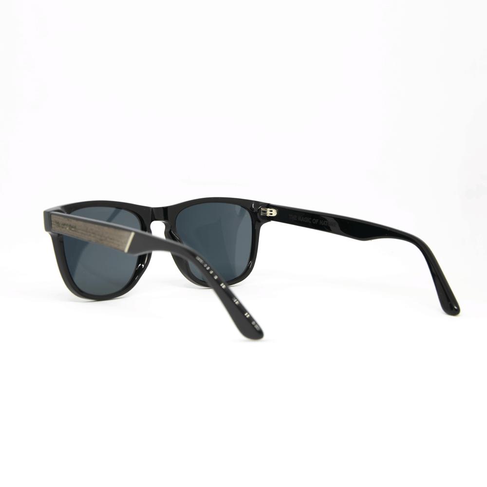 שוורץ - משקפי שמש מעץ ואצטט בעבודת יד