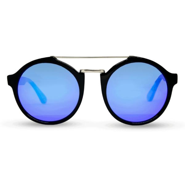 roxbury Black - משקפי שמש מאצטט ושיבוץ עץ - מיסטר וודיני