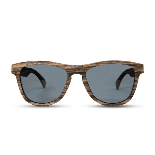 Cobra - Swiss Walnut - משקפי שמש מעץ - Mr. Woodini