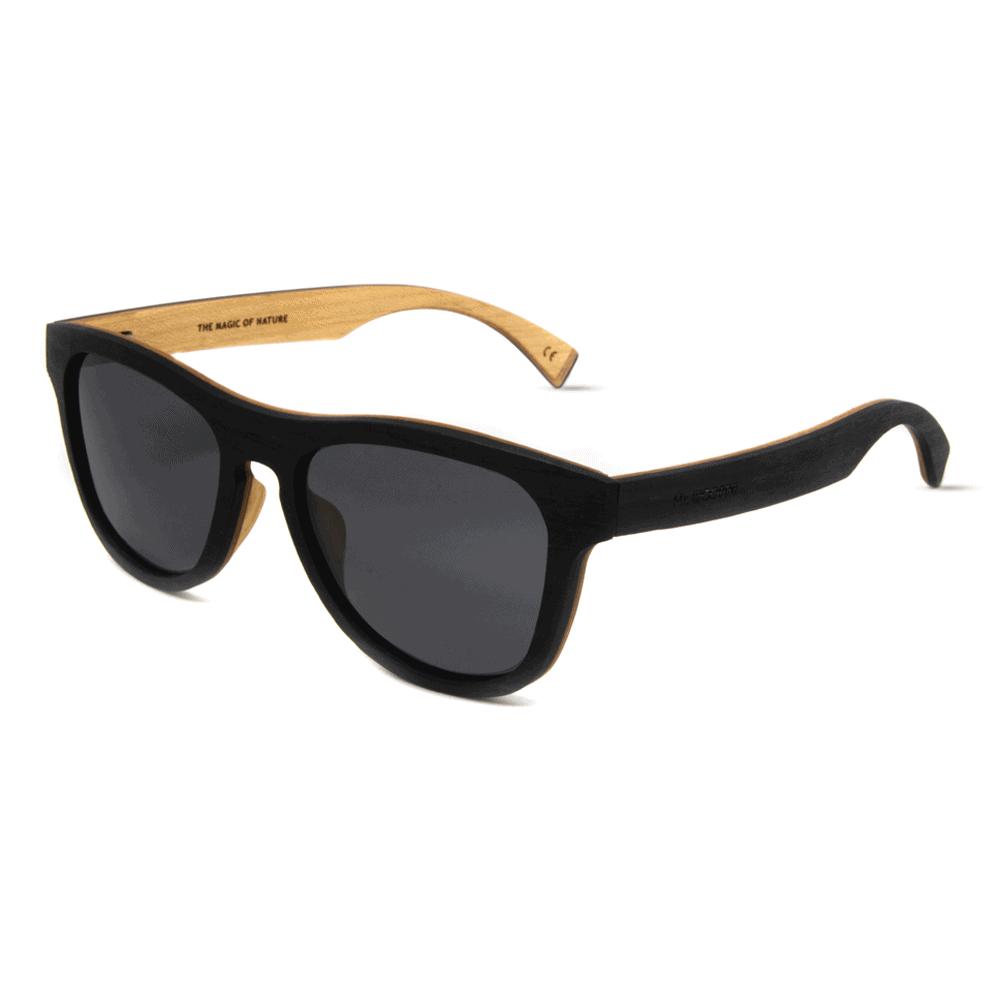 דגם Cobra - משקפי שמש מעץ הובנה - Mr. Woodini