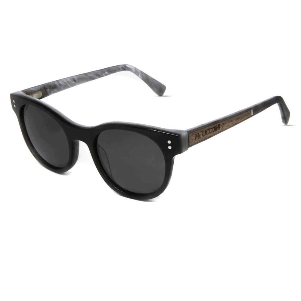 דגם Guru - משקפי שמש מאצטט ועץ - Mr. Woodini