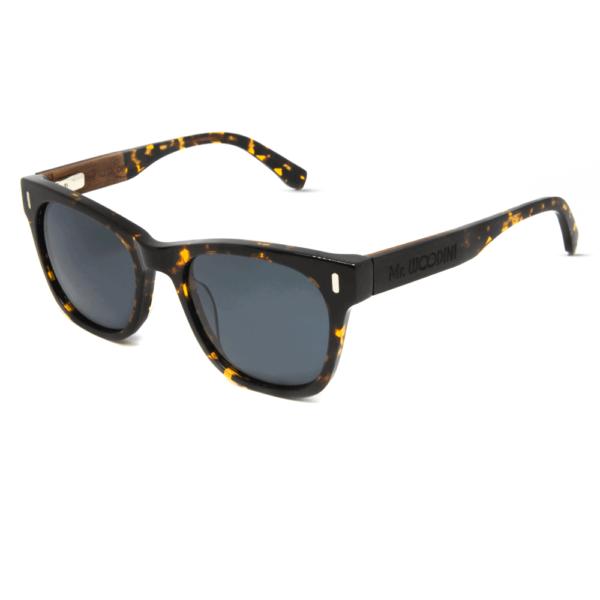 דגם Lava - משקפי שמש מאצטט ועץ - Mr. Woodini
