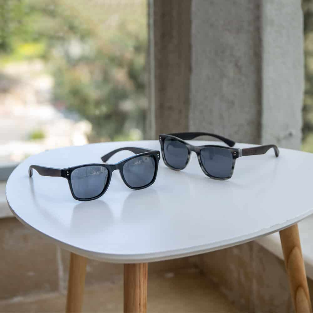 Ora - acetate and wood sunglasses - Mr. Woodini