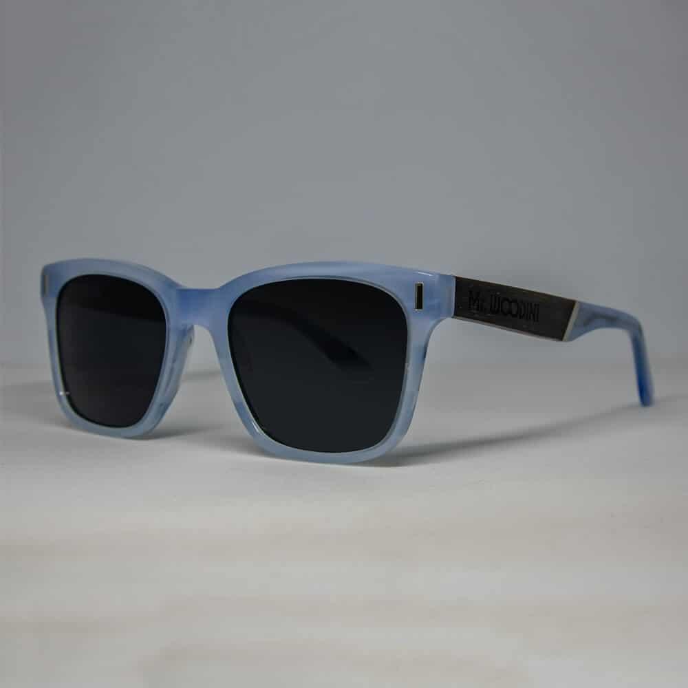 משקפי שמש מאצטט ועץ - דגם Frozen - מיסטר וודיני