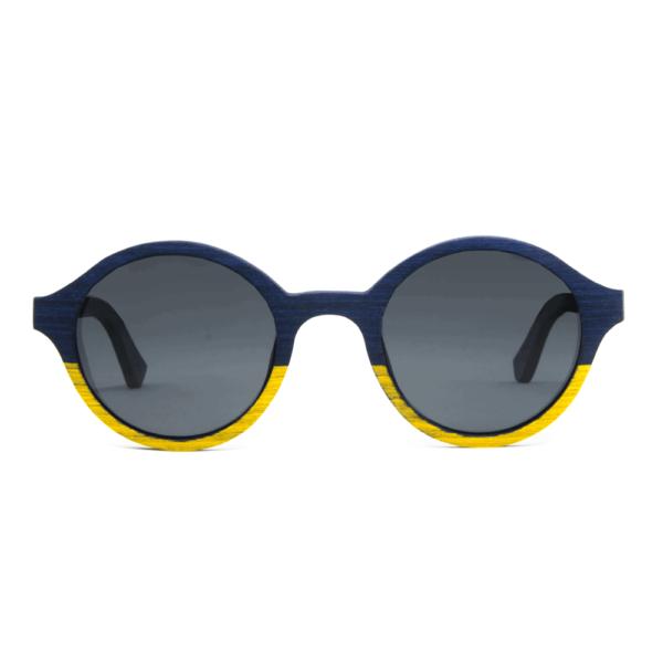דגם Arishima - בצבעים כחול וצהוב - Mr. Woodini