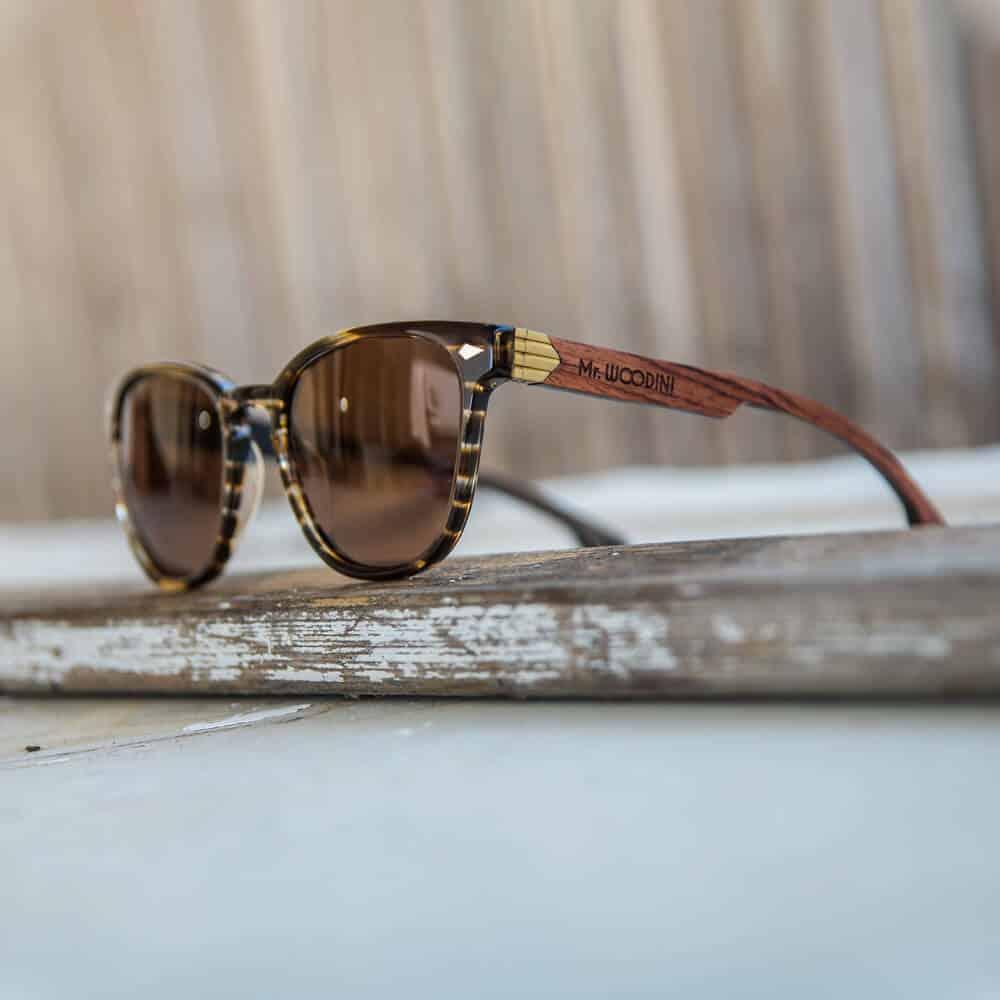משקפי שמש מאצטט דגם Oyster Brown Waves